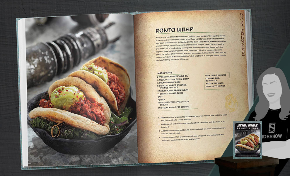 Star Wars: Galaxy's Edge Cookbook Star Wars Book