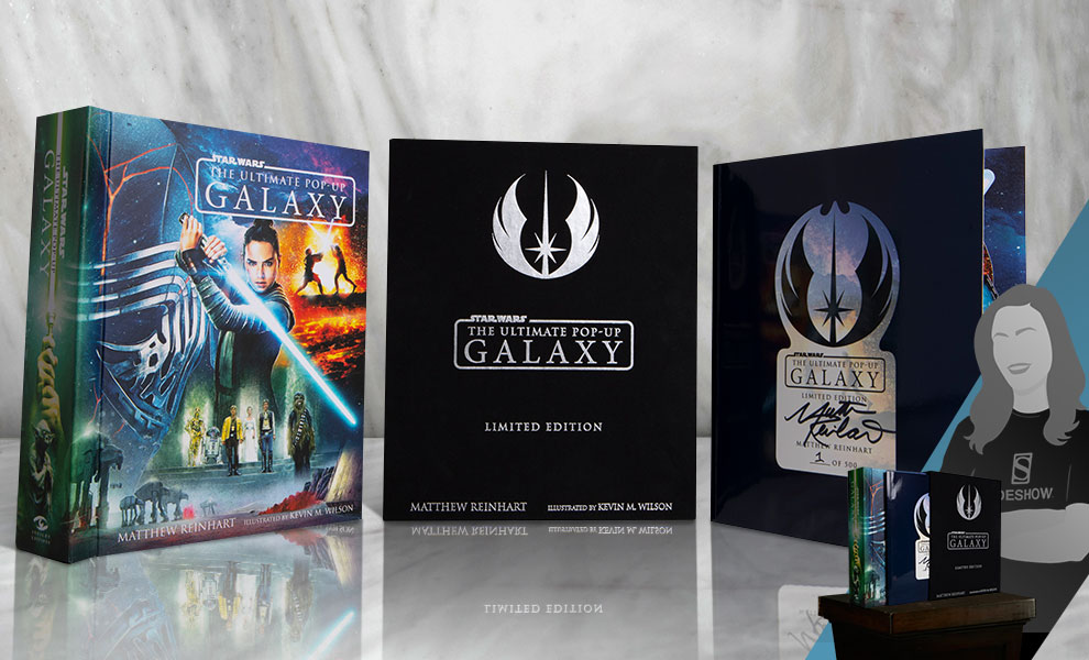 Star Wars: The Ultimate Pop-Up Galaxy (Limited Edition) Star Wars Book