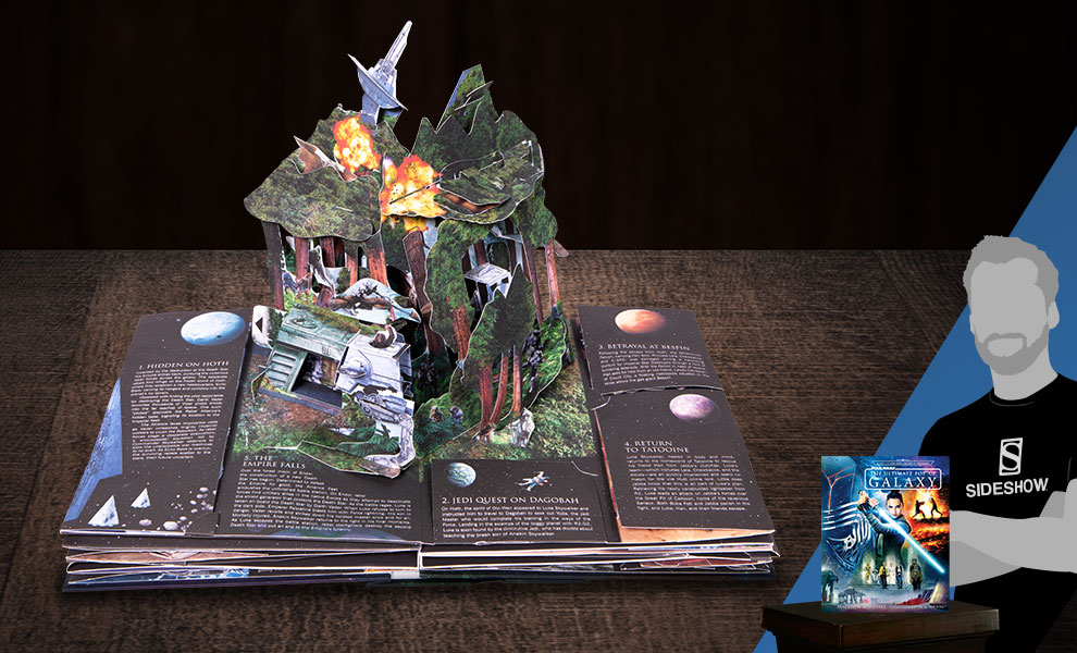 Star Wars: The Ultimate Pop-Up Galaxy Star Wars Book