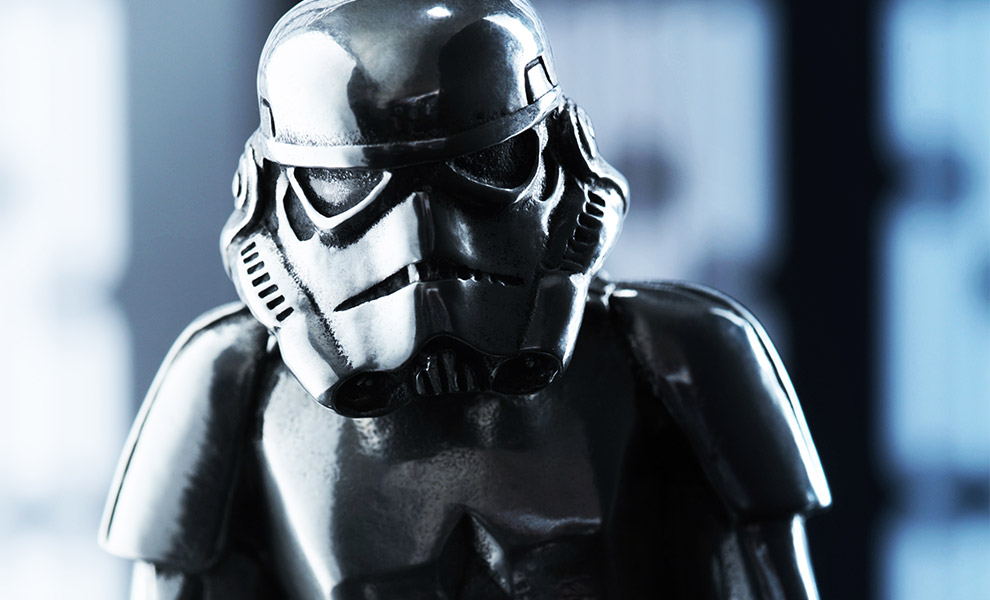 Stormtrooper Figurine Star Wars Pewter Collectible