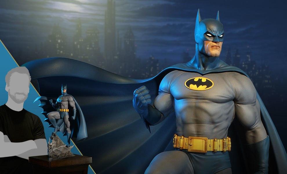 Super Powers Batman DC Comics Maquette