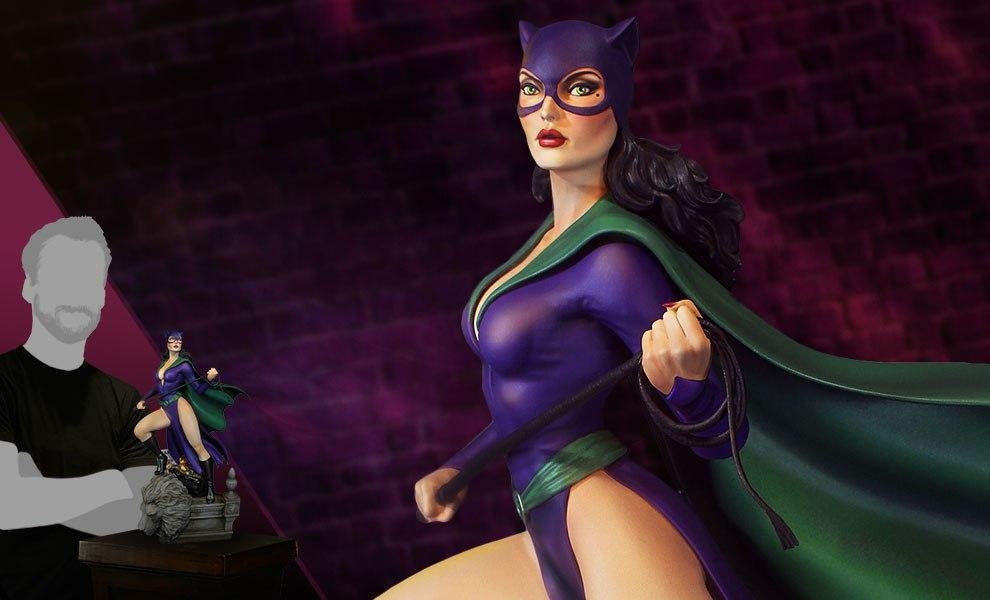 Super Powers Catwoman DC Comics Maquette