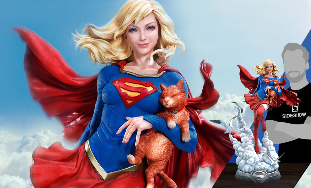 Supergirl DC Comics Statue