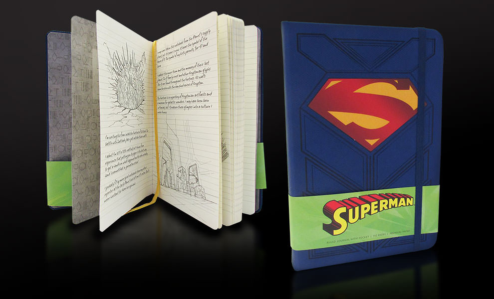 Superman Hardcover Ruled Journal DC Comics Book