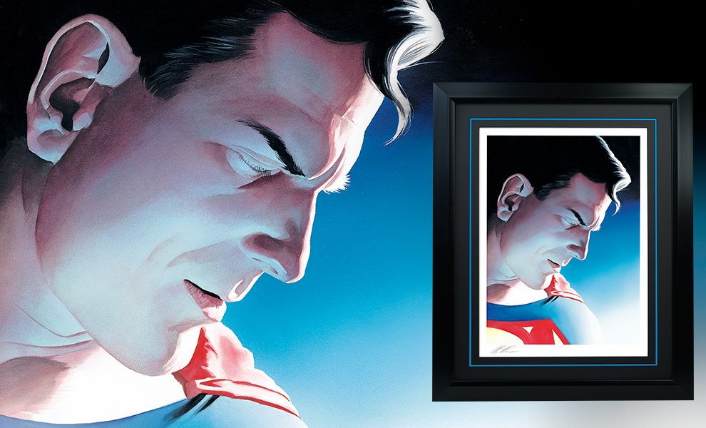 Superman Peace on Earth DC Comics Art Print