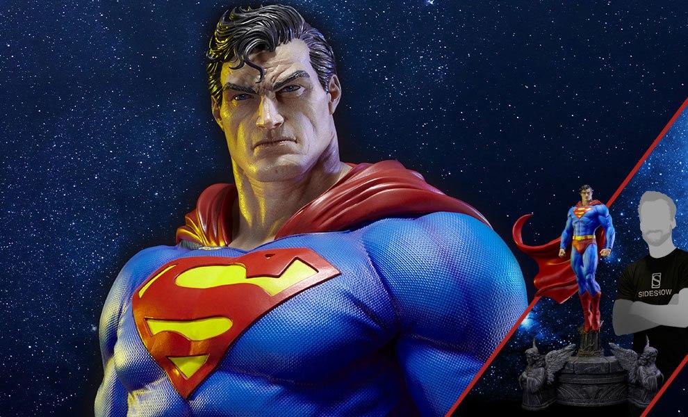 Superman Sculpt Cape Edition DC Comics Statue