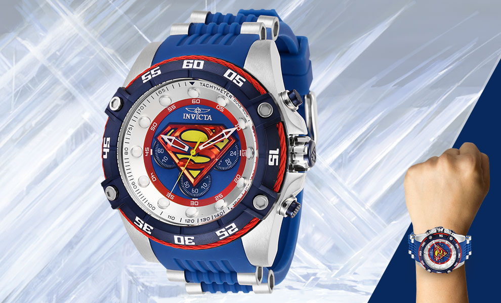 Superman Watch - Model 29121 DC Comics Jewelry