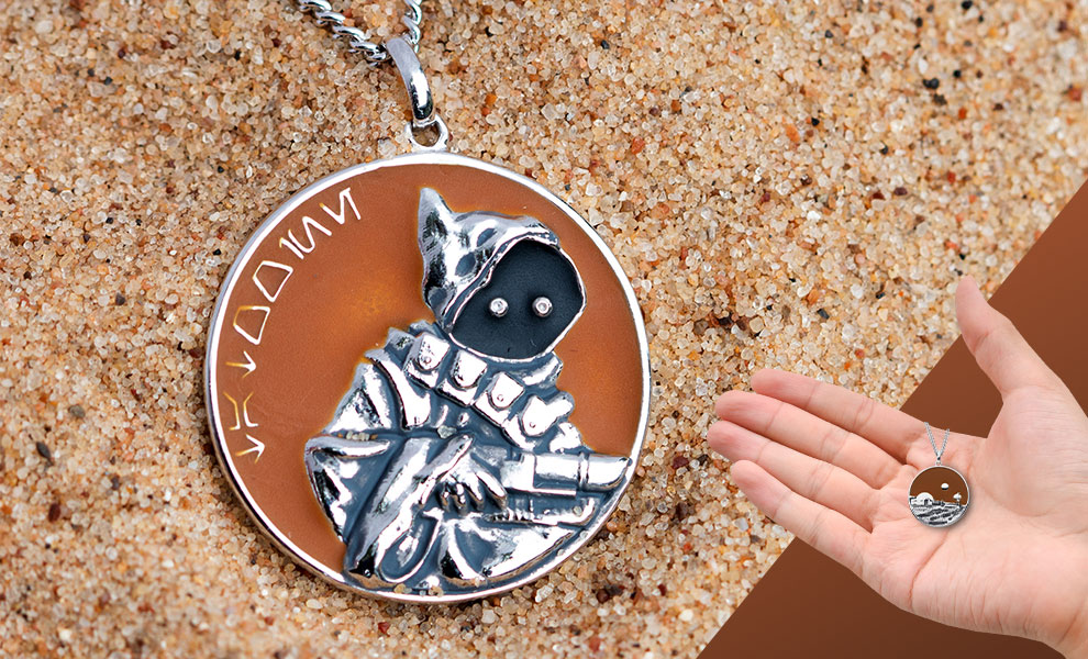 Tatooine Planetary Medallion Star Wars Jewelry