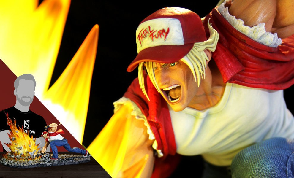 Terry Bogard The Lone Wolf The King of Fighters Diorama