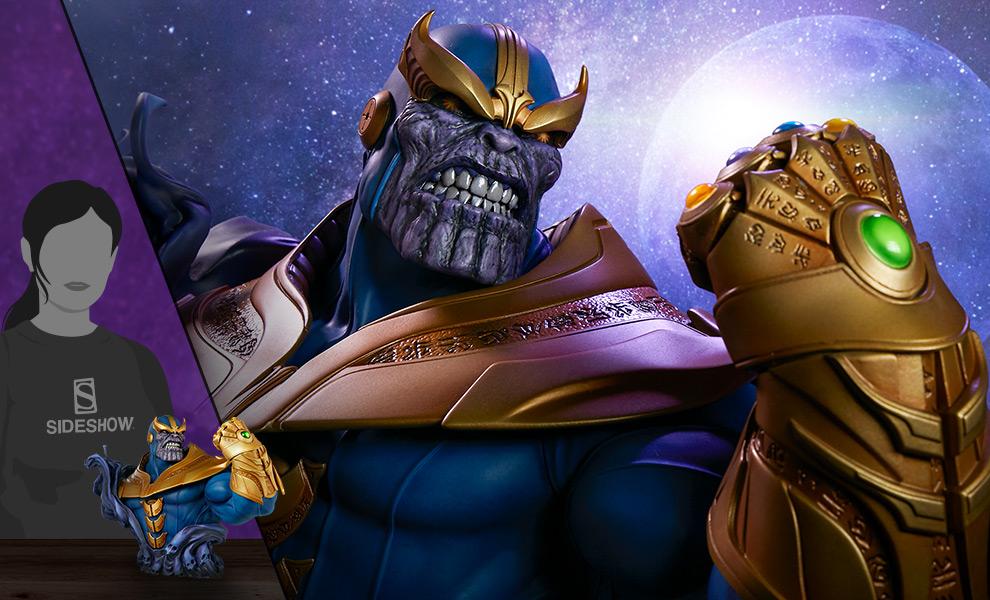 Thanos Marvel Bust