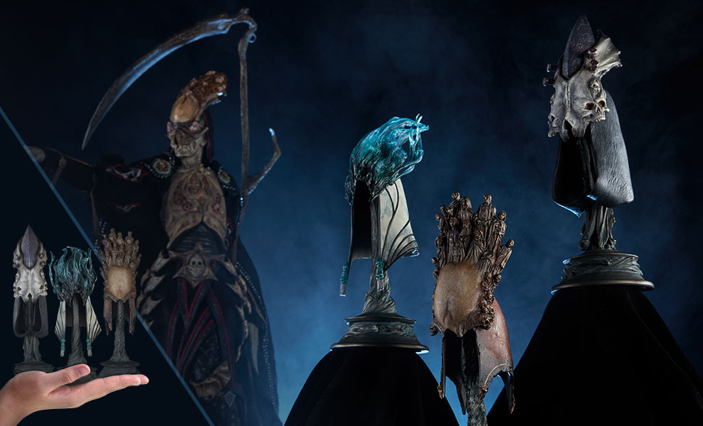 The Aspects of Death Mask Court of the Dead Collectible Set