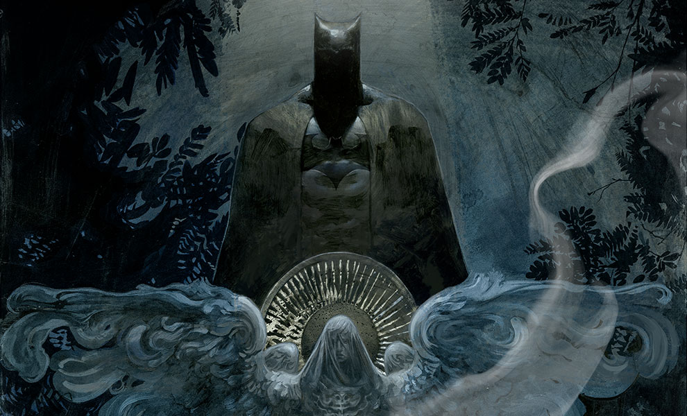 The Birth of Batman DC Comics Art Print