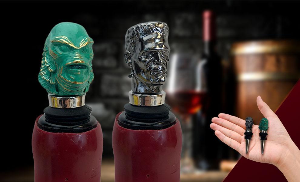 The Creature & Frankenstein Bottle Stopper Universal Monsters Box Set