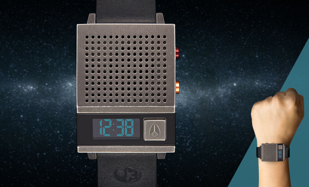 The Dork Too Black Watch Star Wars Jewelry