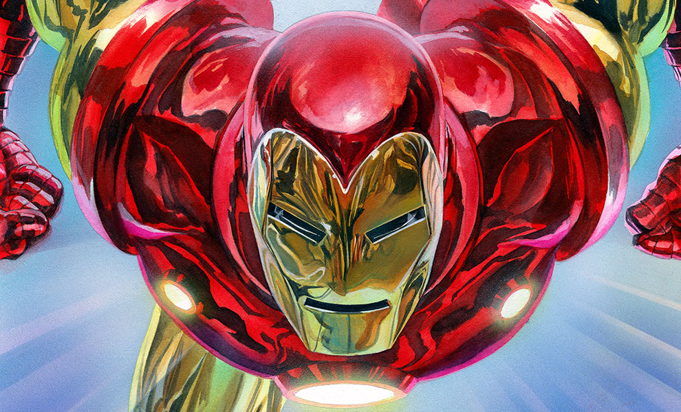 The Invincible Iron Man Marvel Art Print