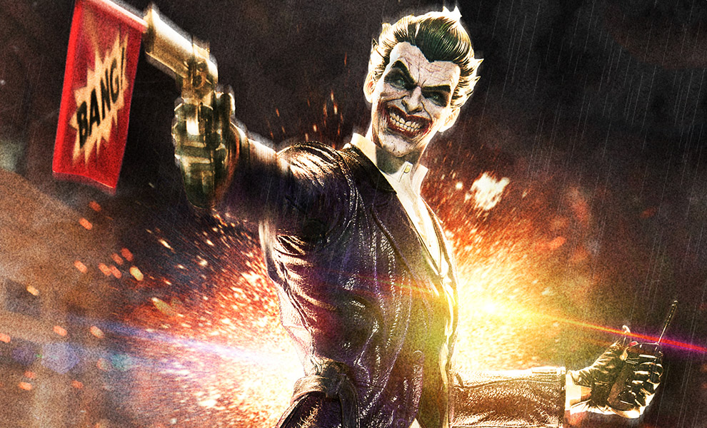 The Joker DC Comics Statue - Arkham Origins