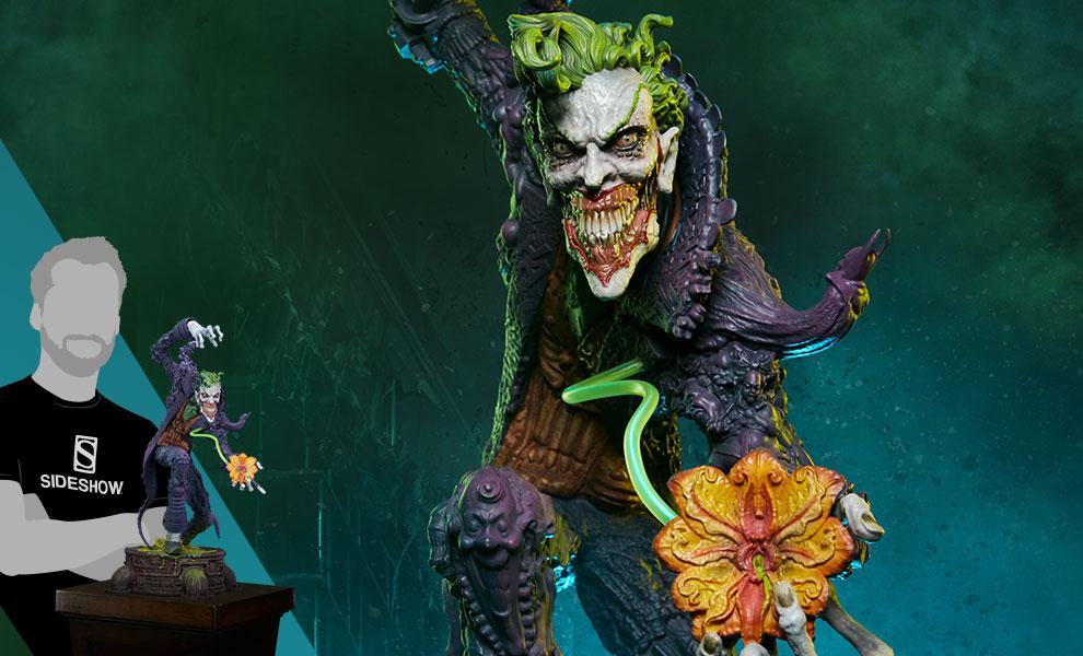 The Joker DC Comics Statue - Gotham City Nightmare