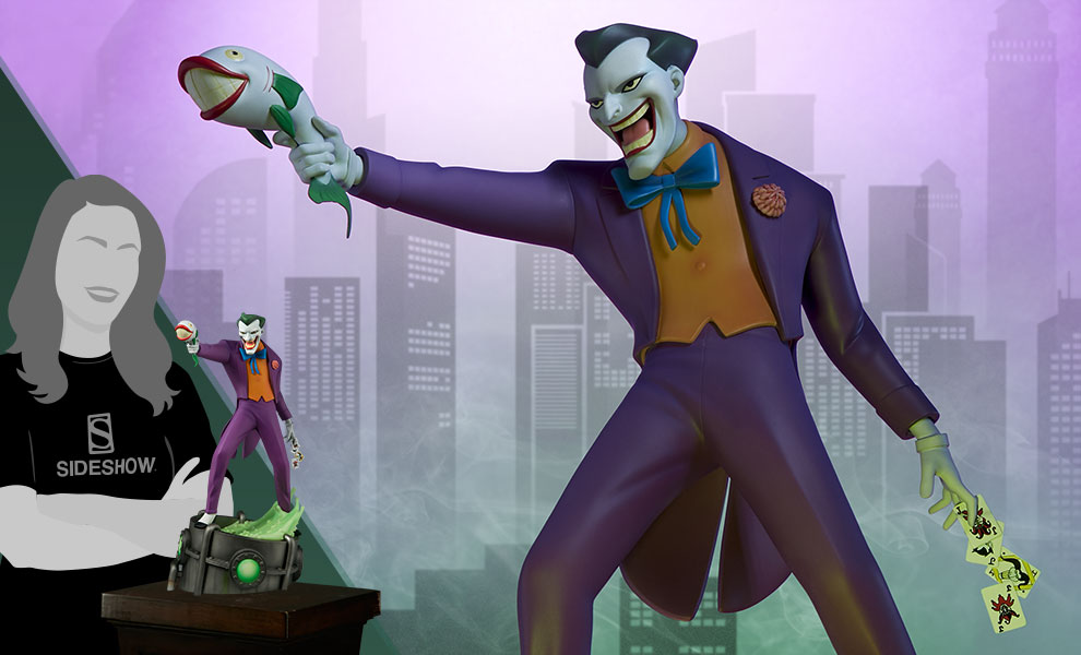 The Joker DC Comics Statue - Animated Series Collection
