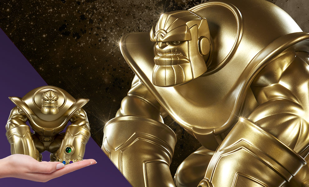 The Mad Titan Gold Edition Marvel Designer Collectible Toy