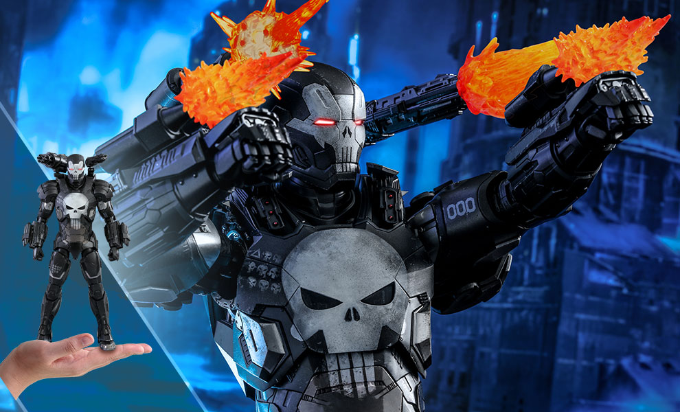The Punisher War Machine Armor Marvel Sixth Scale Figure