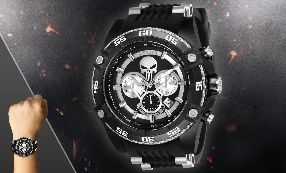 The Punisher Watch - Model 26859 Marvel Jewelry