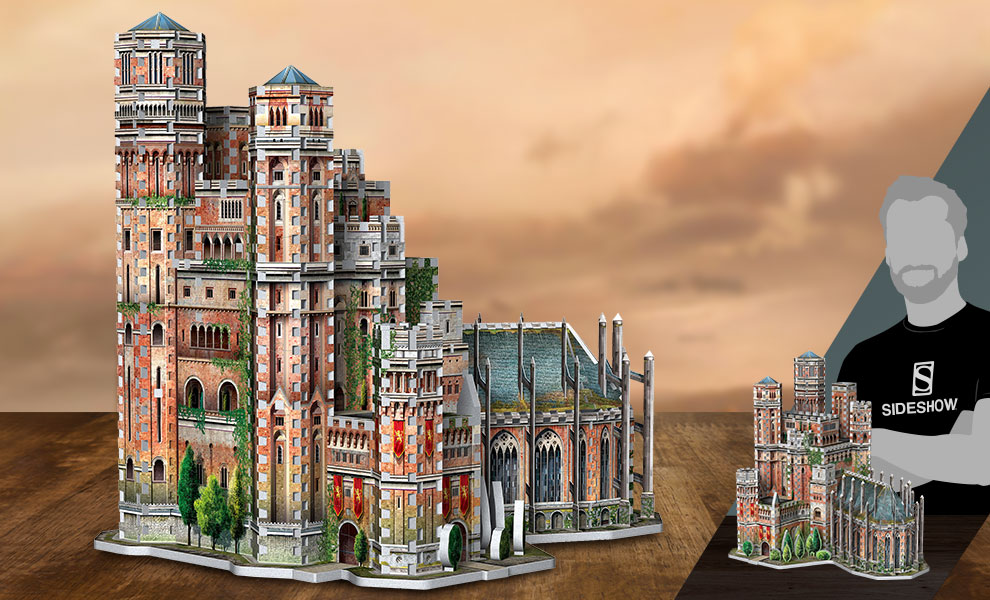 The Red Keep 3D Puzzle Game of Thrones Puzzle
