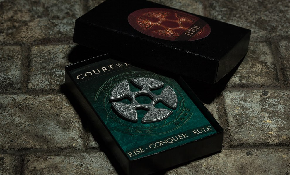 The Signet of Flesh Faction Court of the Dead Collectible Pin