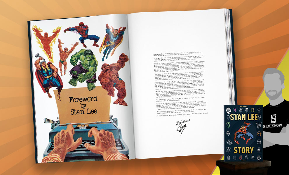 The Stan Lee Story XXL Stan Lee Book