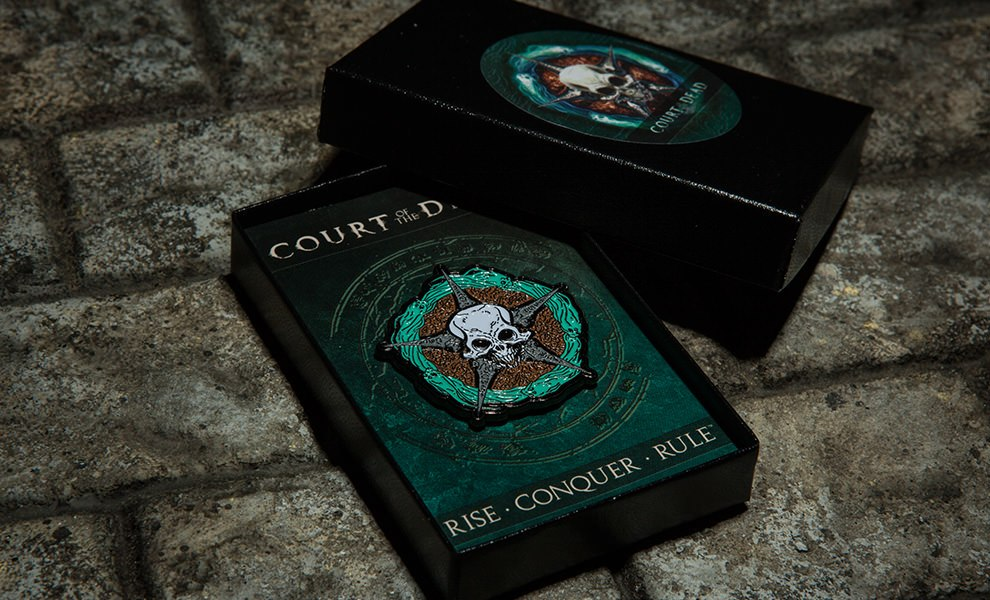 The Underworld United Signet Court of the Dead Collectible Pin