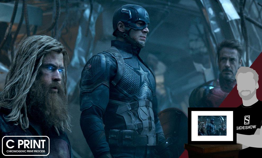 Thor, Cap & Tony Marvel Art Print