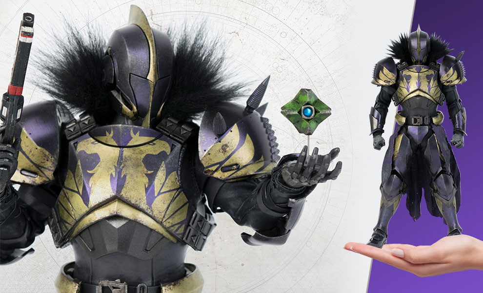 Titan (Golden Trace Shader) Destiny Sixth Scale Figure
