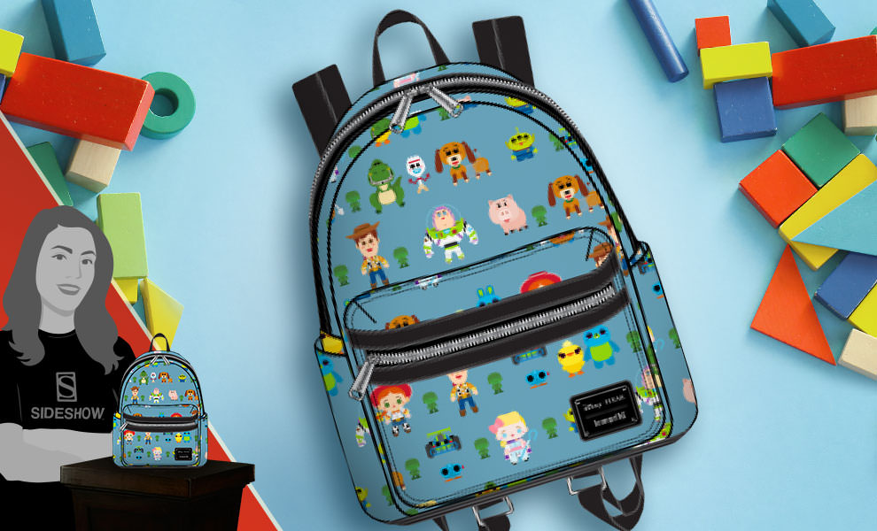 Toy Story Chibi Print Mini Backpack Disney Apparel