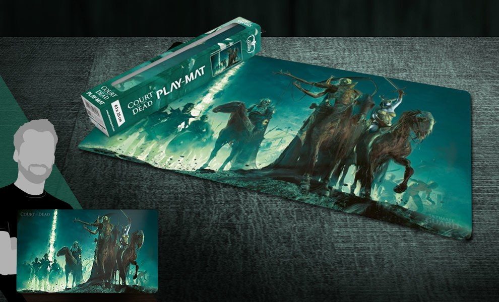Underworld United Play Mat Court of the Dead Gaming Accessories