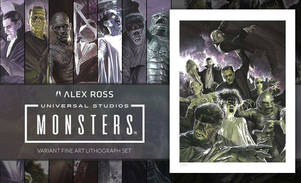Universal Monsters Variant Set Universal Monsters Art Print