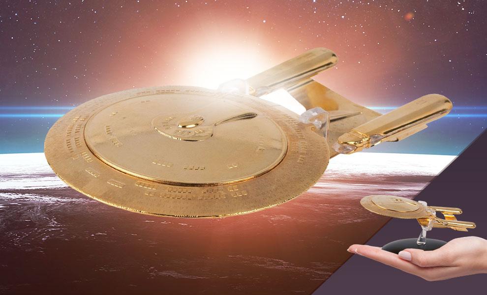 U.S.S. Enterprise NCC-1707-D (Gold Edition) Star Trek Model