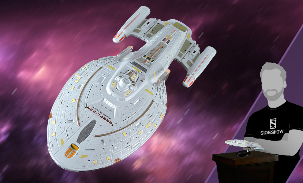 USS Voyager Star Trek Model