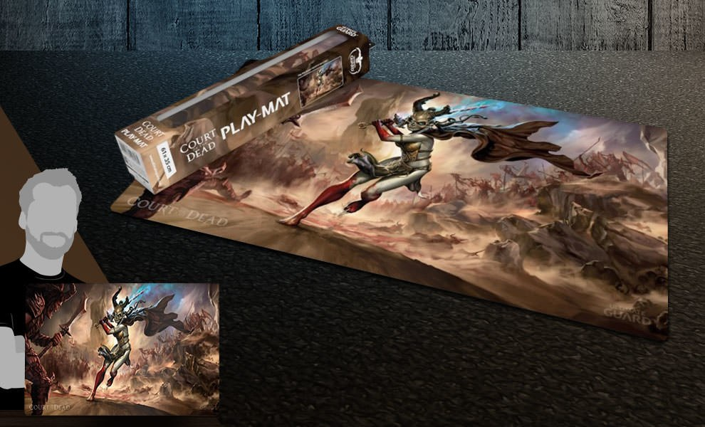 Valkyrie Play Mat Court of the Dead Gaming Accessories
