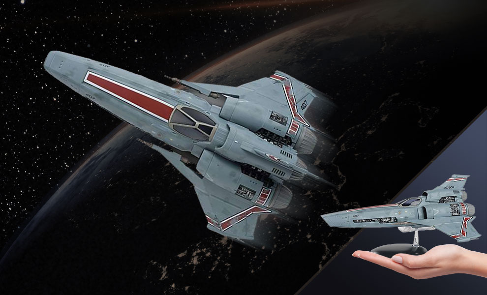 Viper MK III (Blood and Chrome) Battlestar Galactica Model