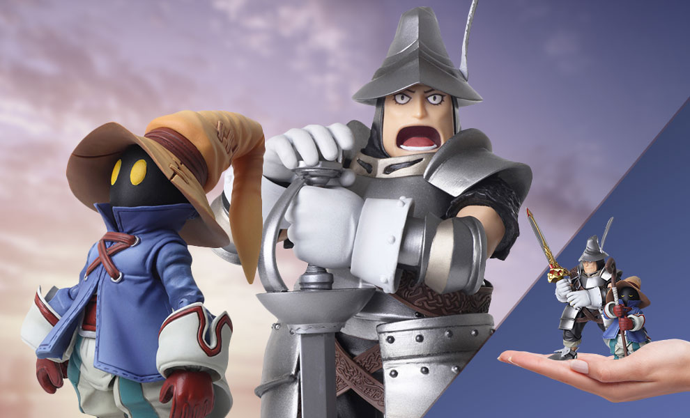 Vivi Ornitier & Adelbert Steiner Final Fantasy Collectible Set