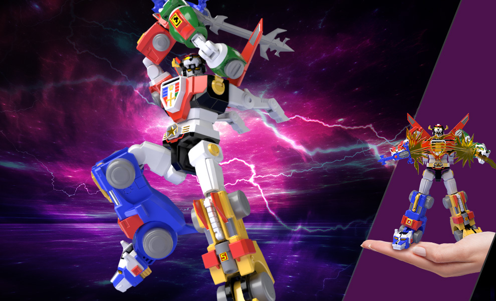 Voltron Voltron: Defender of the Universe Collectible Set