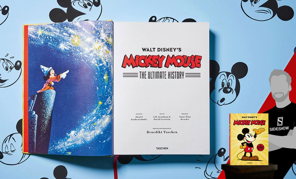 Walt Disney's Mickey Mouse: The Ultimate History Disney Book