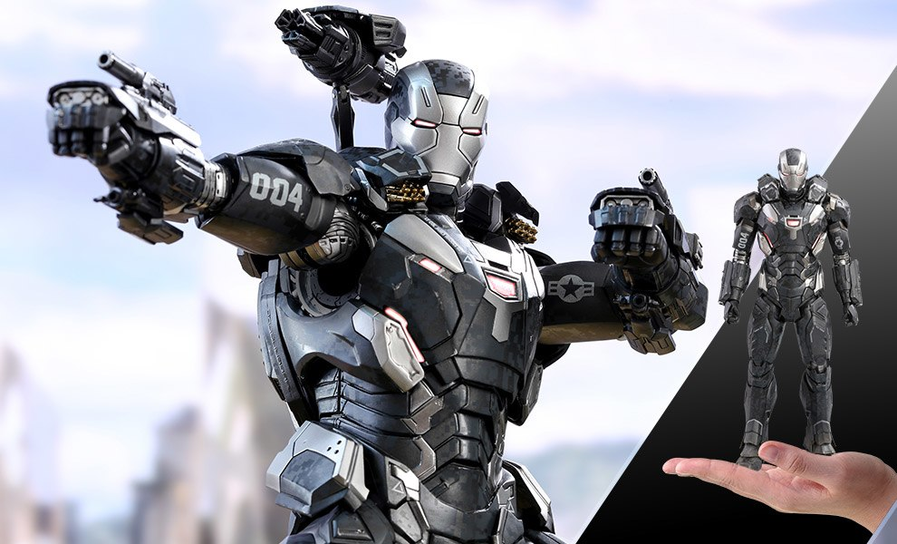 War Machine Mark IV Marvel Sixth Scale Figure