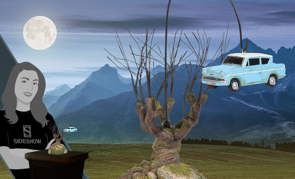 Whomping Willow Tree Harry Potter Figurine