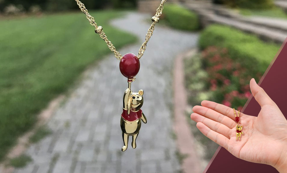 Winnie the Pooh Balloon Necklace Disney Jewelry