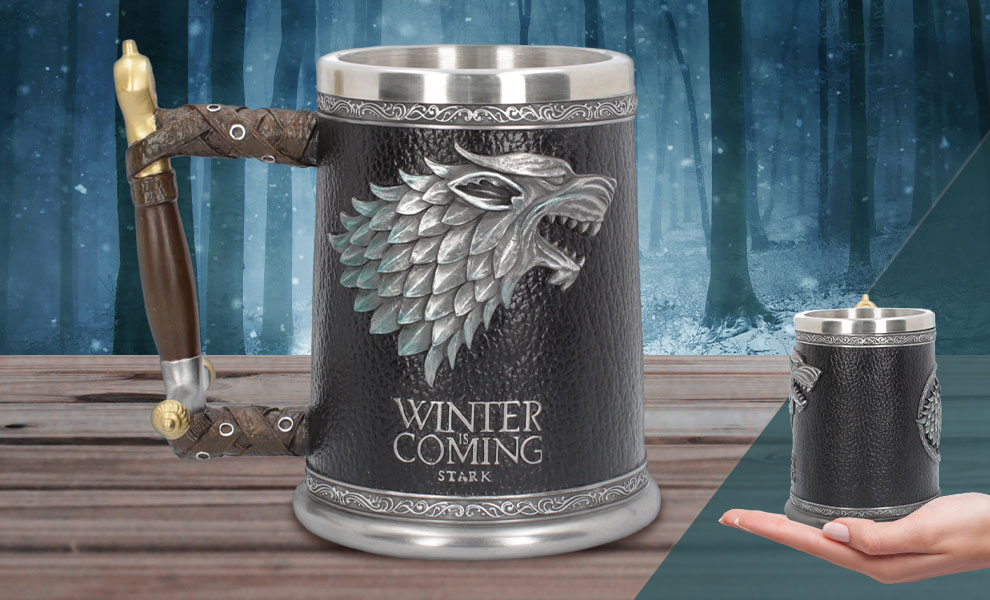Winter is Coming Tankard Game of Thrones Collectible Drinkware