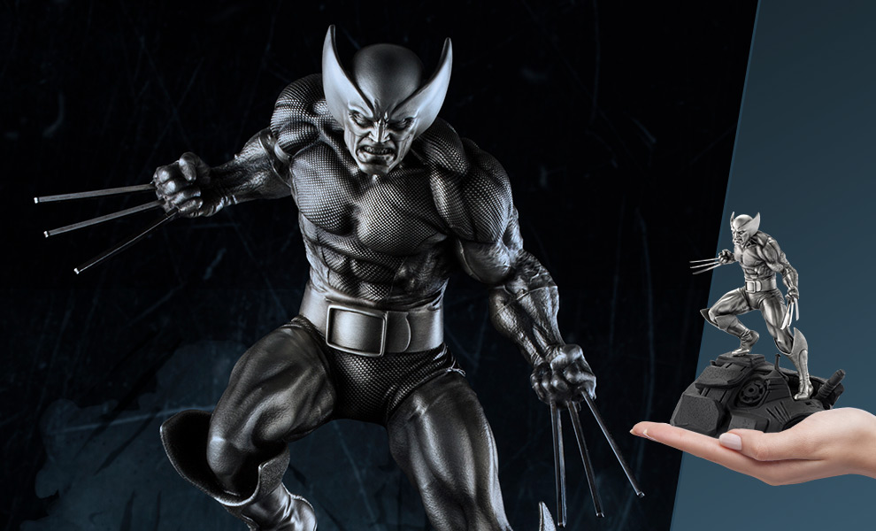 Wolverine Marvel Pewter Collectible