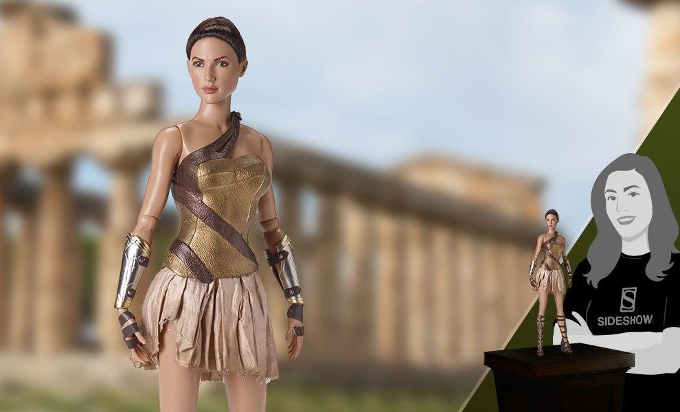 Wonder Woman Training Armor DC Comics Doll