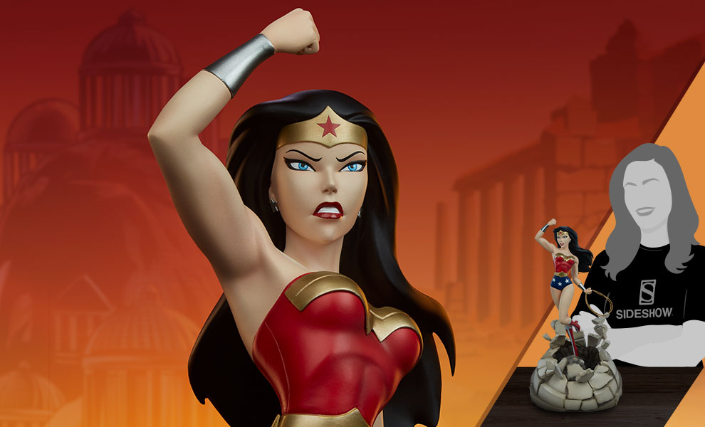 Wonder Woman DC Comics Statue - Animated Series Collection