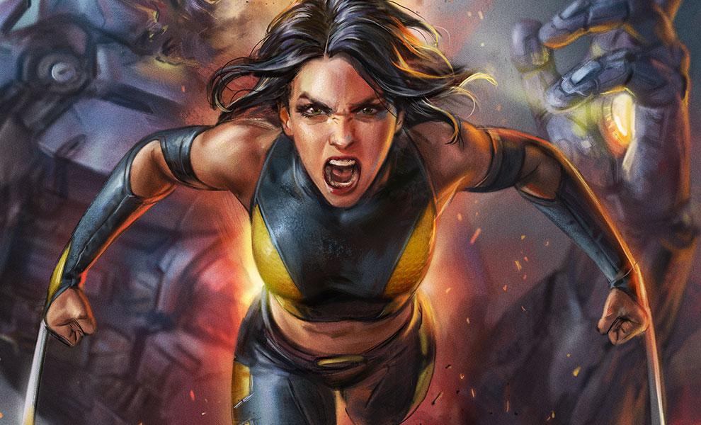 X-23 Marvel Art Print