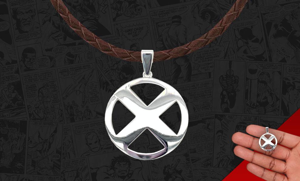 X-Men Logo Necklace Marvel Jewelry